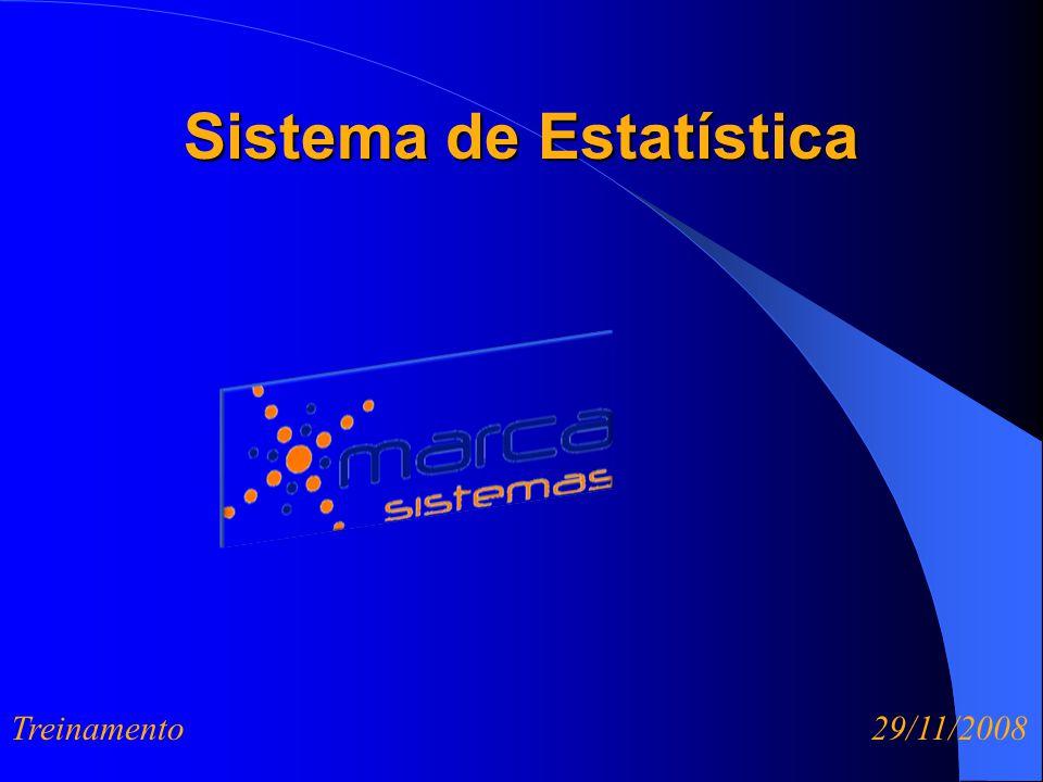 Sistema de Estatística Treinamento 29/11/2008