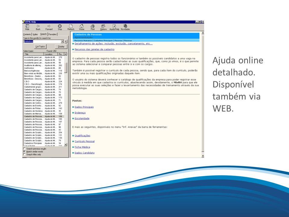 Mix Ajuda online detalhado. Disponível também via WEB.