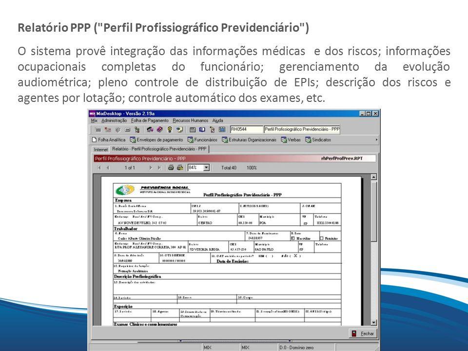 Mix Relatório PPP (