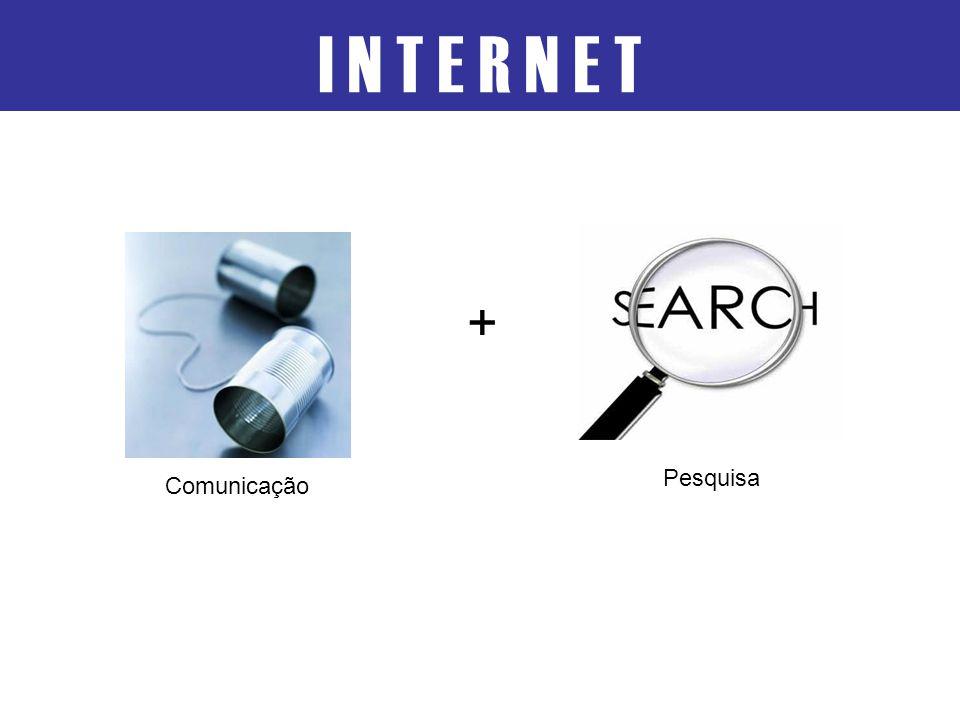 I N T E R N E T Pesquisa Comunicação +