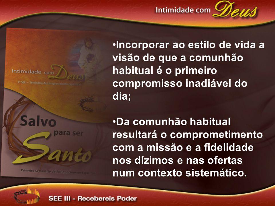 4º - O Espírito Santo nos é enviado como resposta a oração de fé para apoiar, sustentar, guiar e animar.