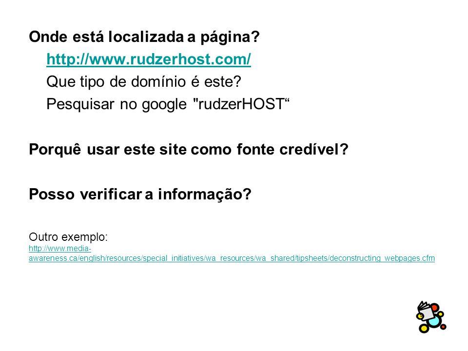 Onde está localizada a página. http://www.rudzerhost.com/ Que tipo de domínio é este.