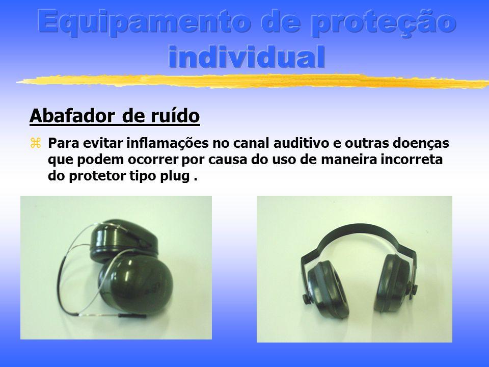 Protetor Auricular Para evitar doenças causadas pelos ruído como: Perda auditiva, cansaço físico, mental, estress, fadigas, pressão arterial irregular