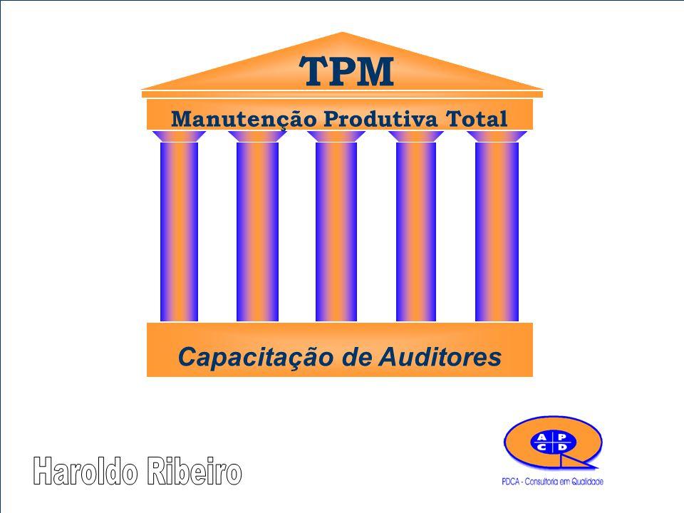 TPM Manutenção Produtiva Total Capacitação de Auditores
