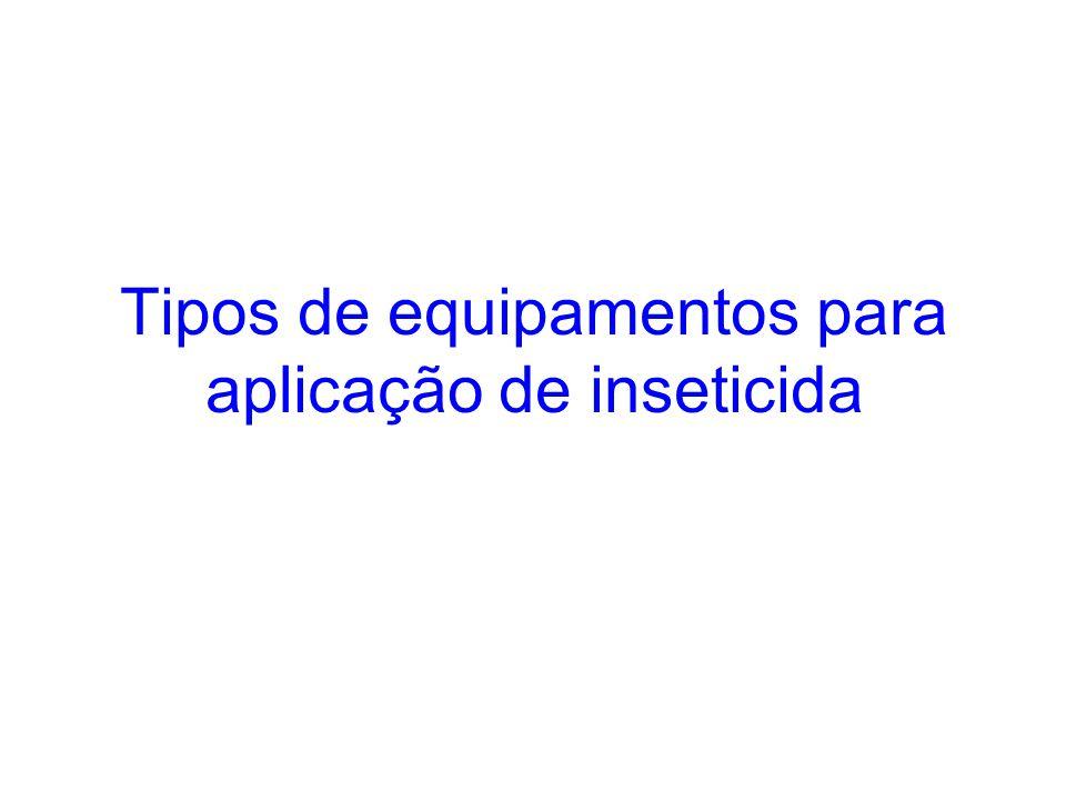 Bombas aspersoras (perifocal) UBV portátil (peri e intradomiciliar)