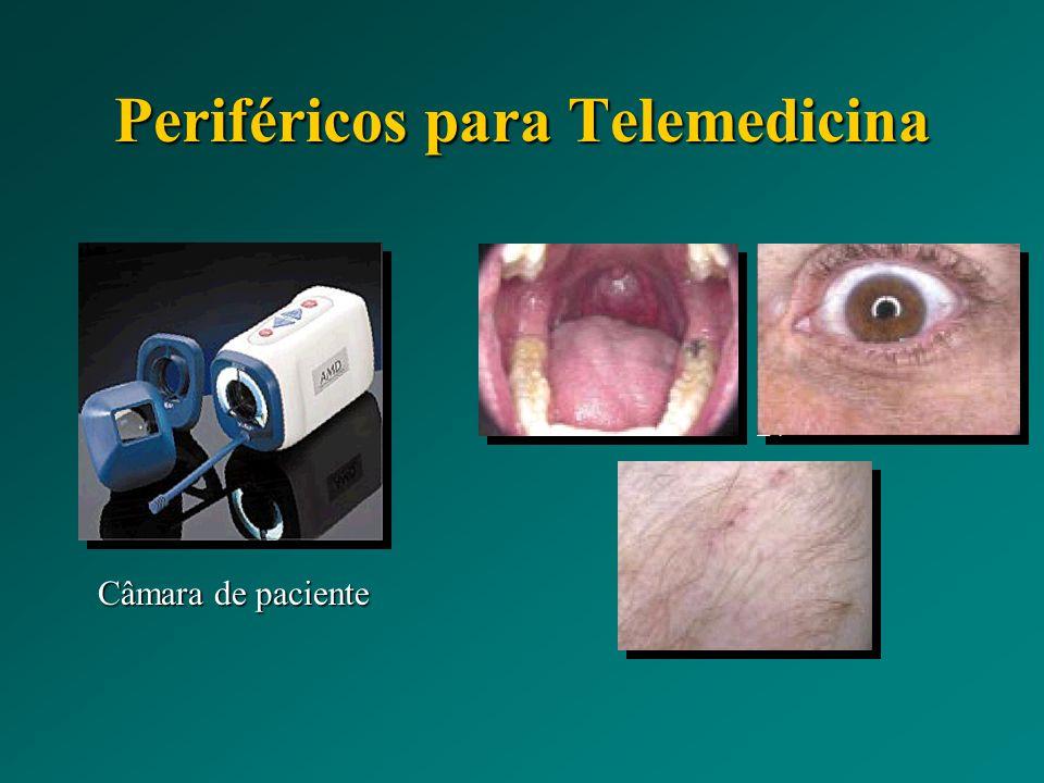 Periféricos para Telemedicina Câmara de paciente