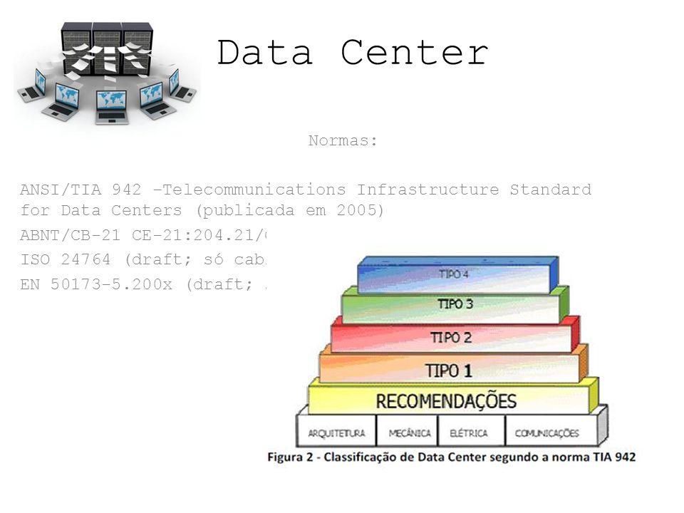 Data Center O Padrão TIER é um modelo usado para mensurar o nível da infraestrutura de um local destinado ao funcionamento de um centro de processamento de dados (CPD).