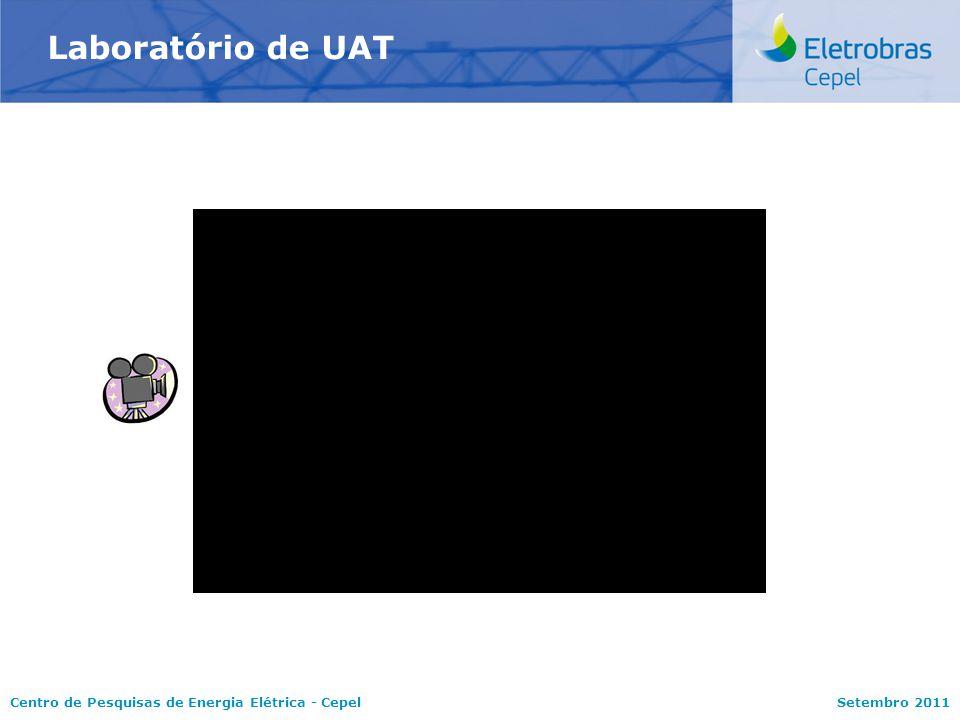 Centro de Pesquisas de Energia Elétrica - CepelSetembro 2011 Laboratório de UAT