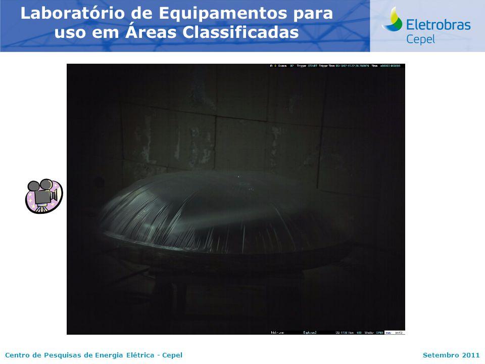 Centro de Pesquisas de Energia Elétrica - CepelSetembro 2011 Laboratório de Equipamentos para uso em Áreas Classificadas