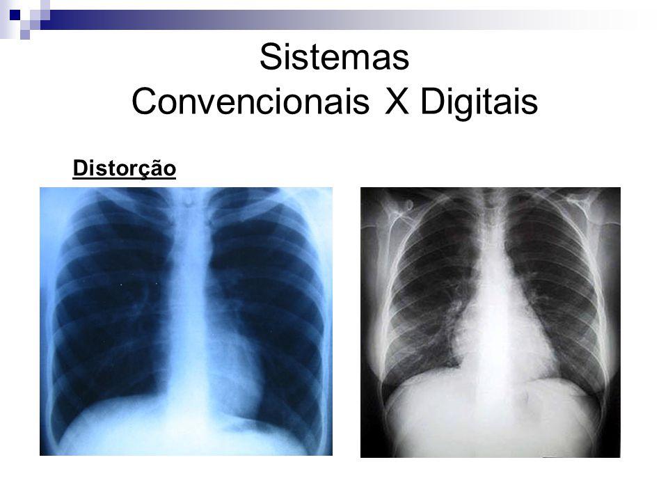 Sistemas Convencionais X Digitais Distorção