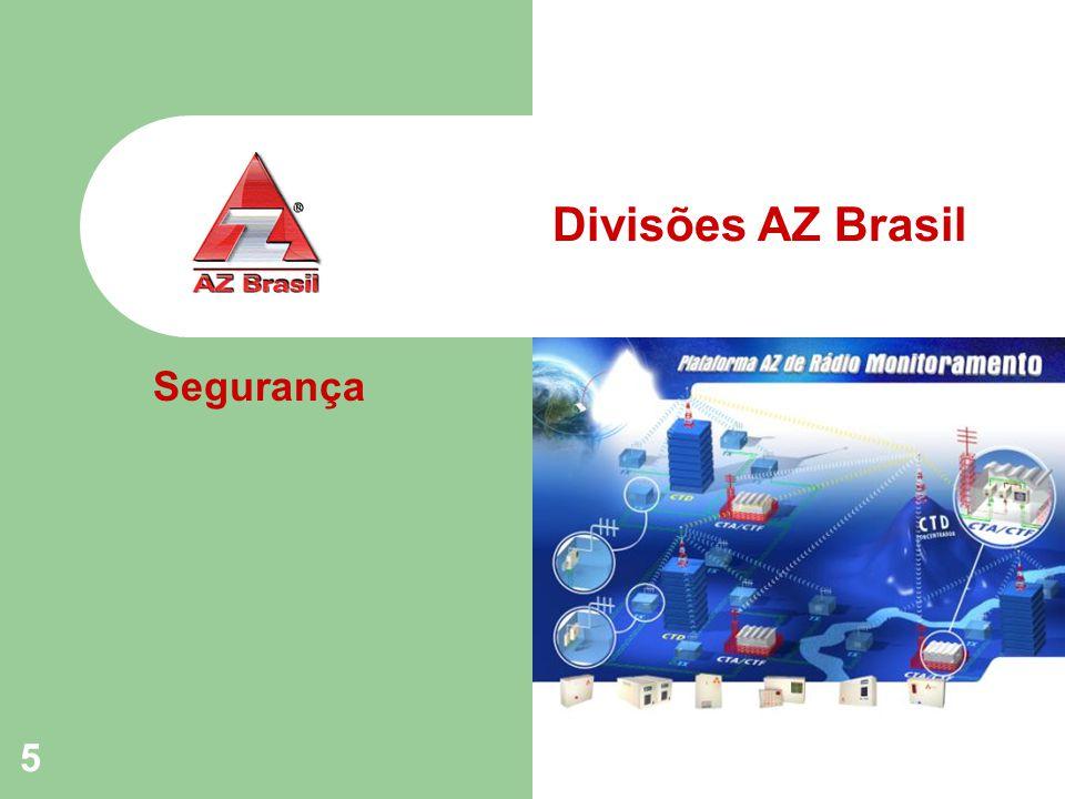 5 Divisões AZ Brasil Segurança