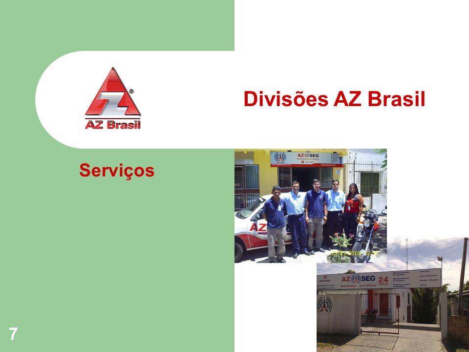 7 Divisões AZ Brasil Serviços