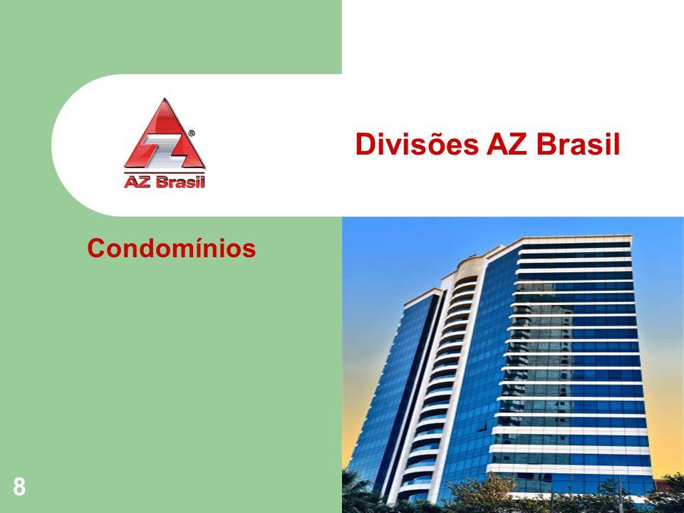 8 Divisões AZ Brasil Condomínios