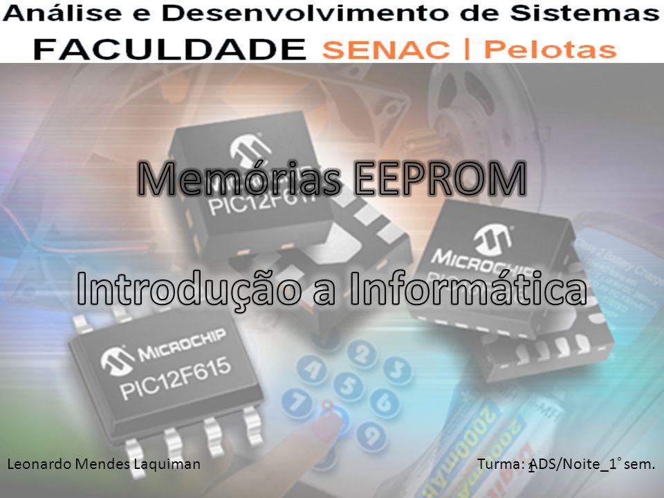 Leonardo Mendes Laquiman Turma: ADS/Noite_1° sem. 1
