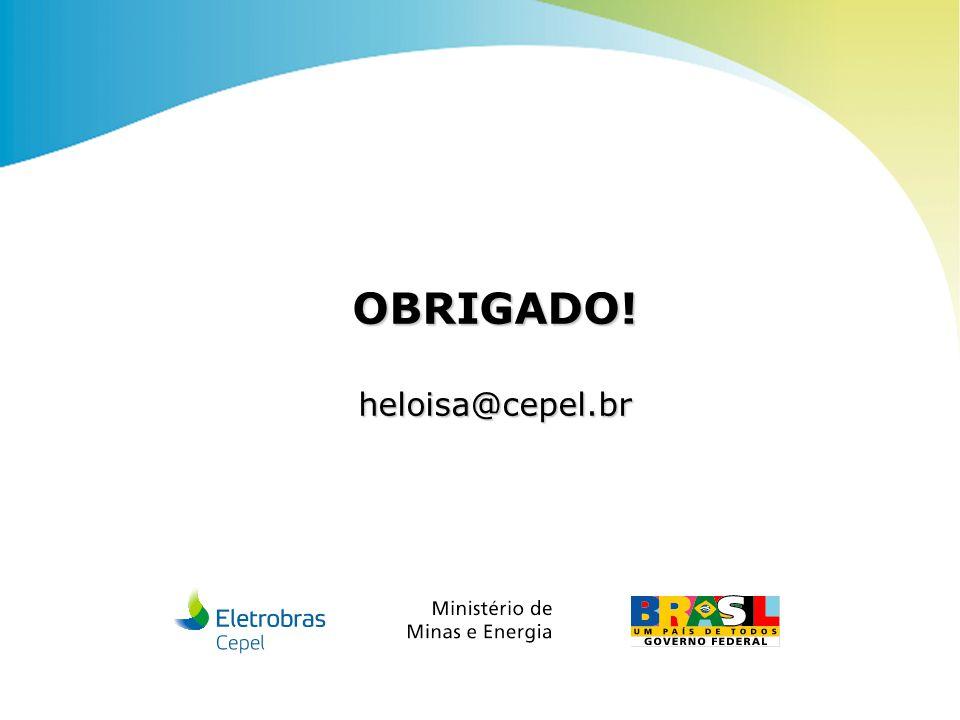 Centro de Pesquisas de Energia Elétrica - CepelABM | 2010 OBRIGADO!heloisa@cepel.br