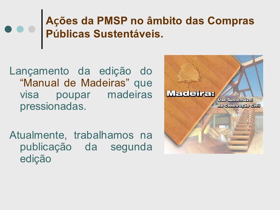 Lançamento da edição do Manual de Madeiras que visa poupar madeiras pressionadas.