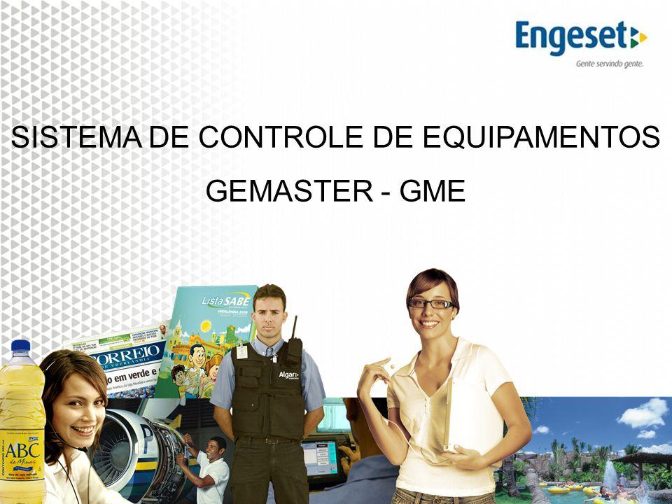 Alterações na estrutura da Holding ALGAR – dez/2008 SISTEMA DE CONTROLE DE EQUIPAMENTOS GEMASTER - GME