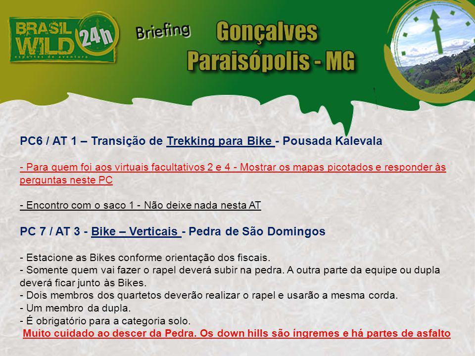 PC 8 / AT 2 - Transição de Bike para Canoagem Pesqueiro Santo Expedito - Bairro dos Martins - As equipes terão que carregar os barcos por mais ou menos 1 km até entrar na água.