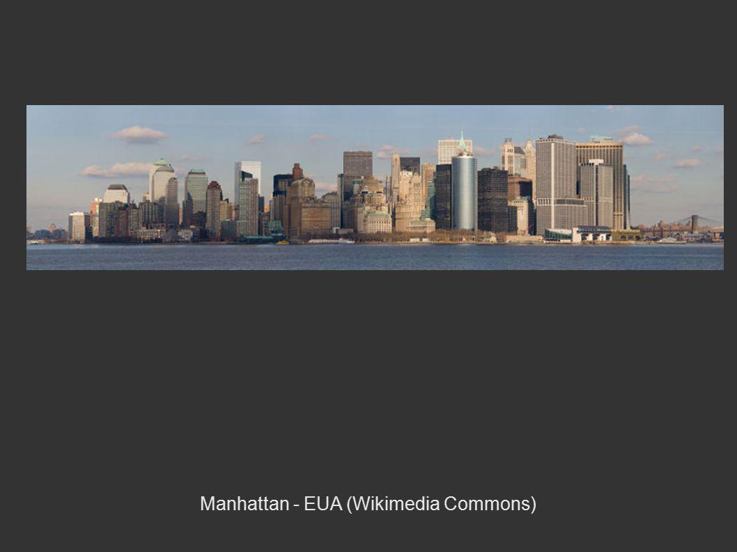 Manhattan - EUA (Wikimedia Commons)