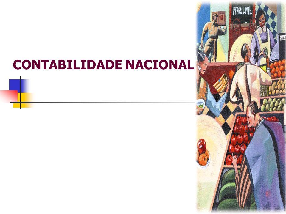 Contabilidade Nacional e Agregados Macroeconômicos  Contabilidade Nacional um instrumento que permite mensurar a totalidade das atividades econômicas.