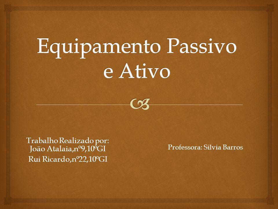Trabalho Realizado por: João Atalaia,nº9,10ºGI Rui Ricardo,nº22,10ºGI Professora: Silvia Barros