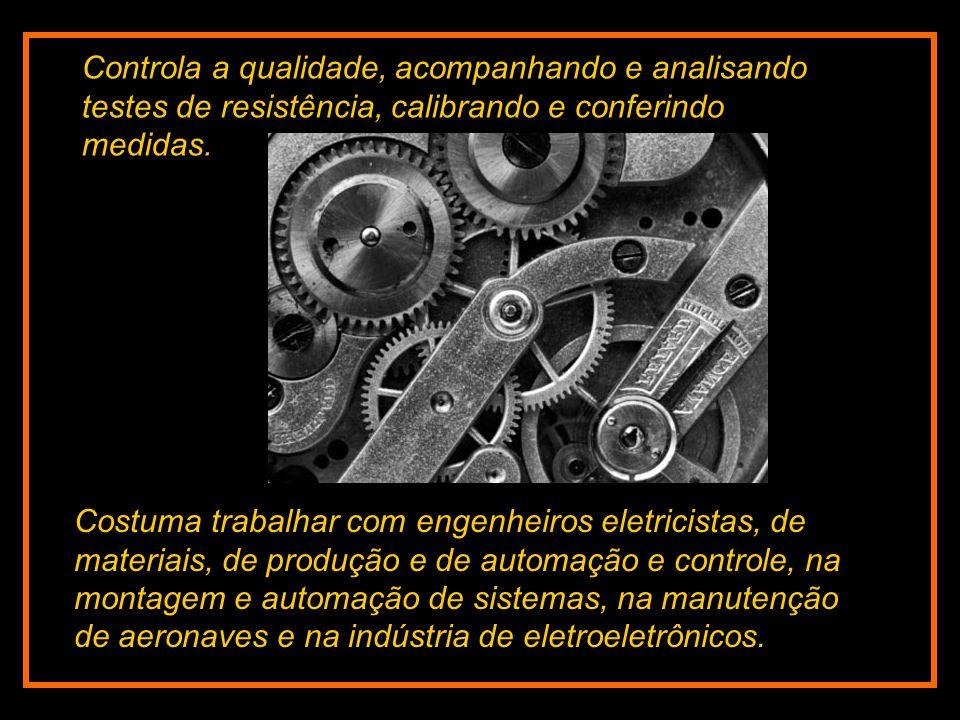 É a área da engenharia que cuida do desenvolvimento, do projeto, da construção e da manutenção de máquinas e equipamentos.