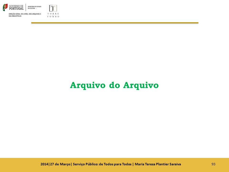 Arquivo do Arquivo 932014|27 de Março| Serviço Público: de Todos para Todos | Maria Teresa Plantier Saraiva