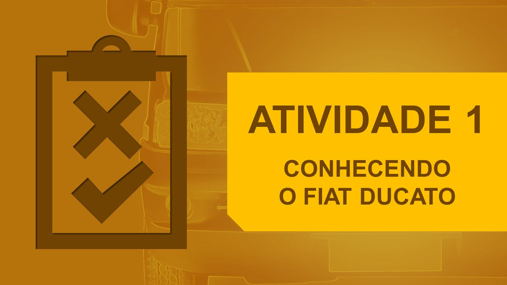 ATIVIDADE 1 CONHECENDO O FIAT DUCATO