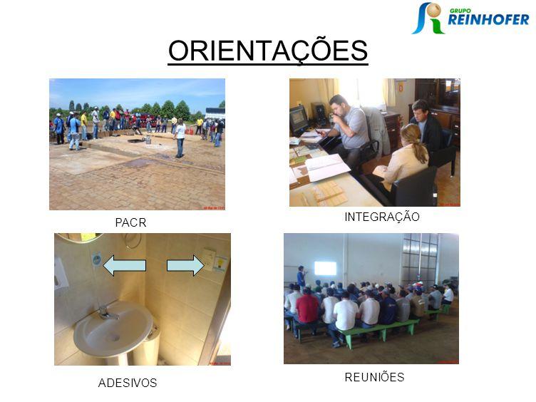 ORIENTAÇÕES PACR INTEGRAÇÃO ADESIVOS REUNIÕES