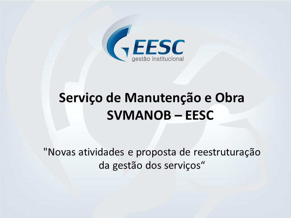Serviço de Manutenção e Obra SVMANOB – EESC