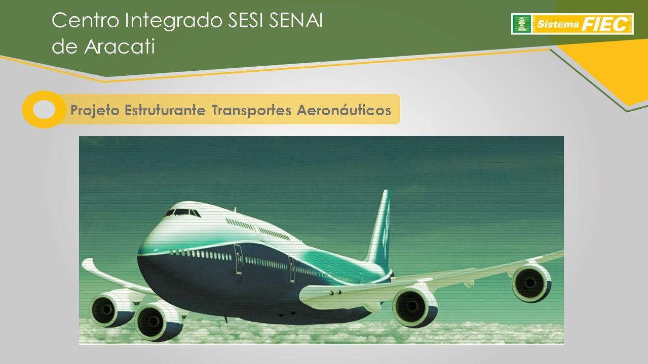 Projeto Estruturante Transportes Aeronáuticos Centro Integrado SESI SENAI de Aracati