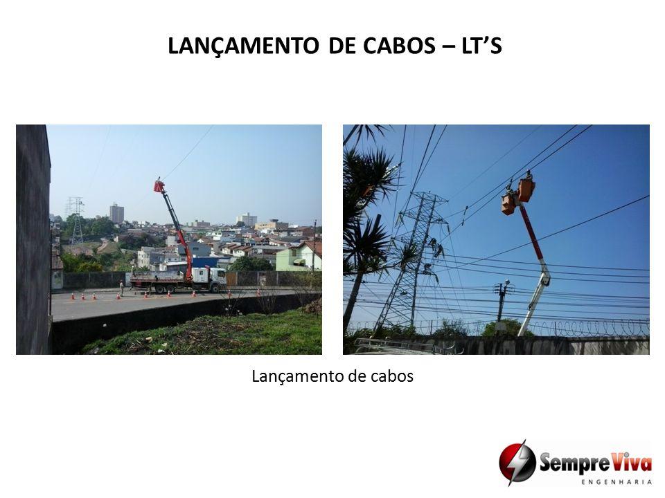 Lançamento de cabos LANÇAMENTO DE CABOS – LT'S