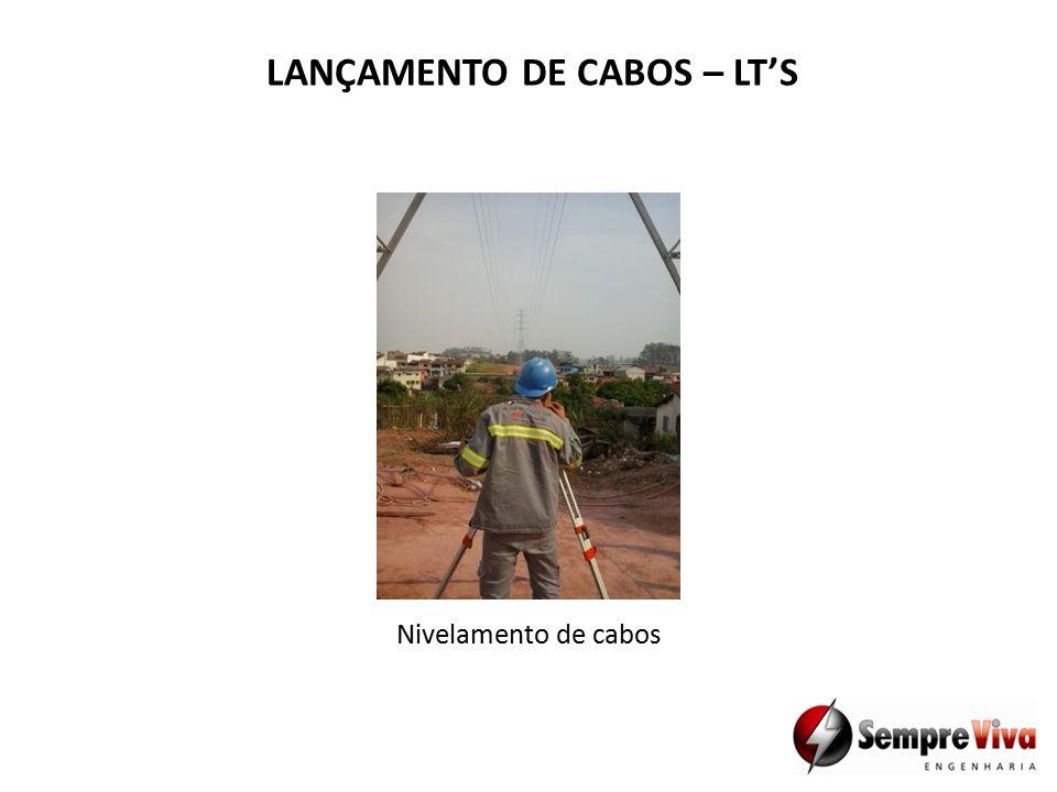 Nivelamento de cabos LANÇAMENTO DE CABOS – LT'S