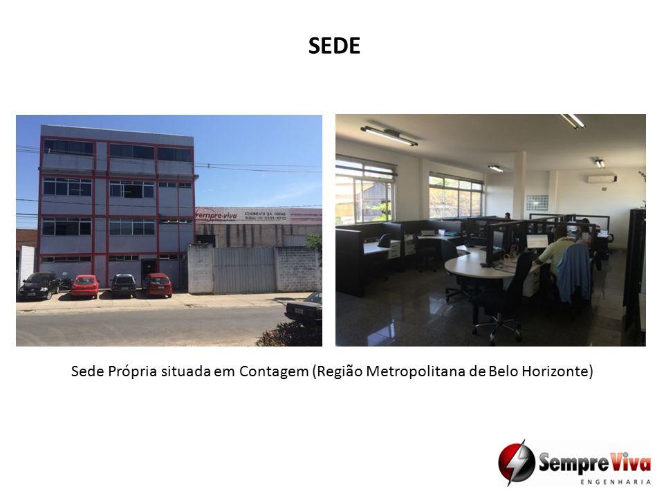 SEDE Sede Própria situada em Contagem (Região Metropolitana de Belo Horizonte)