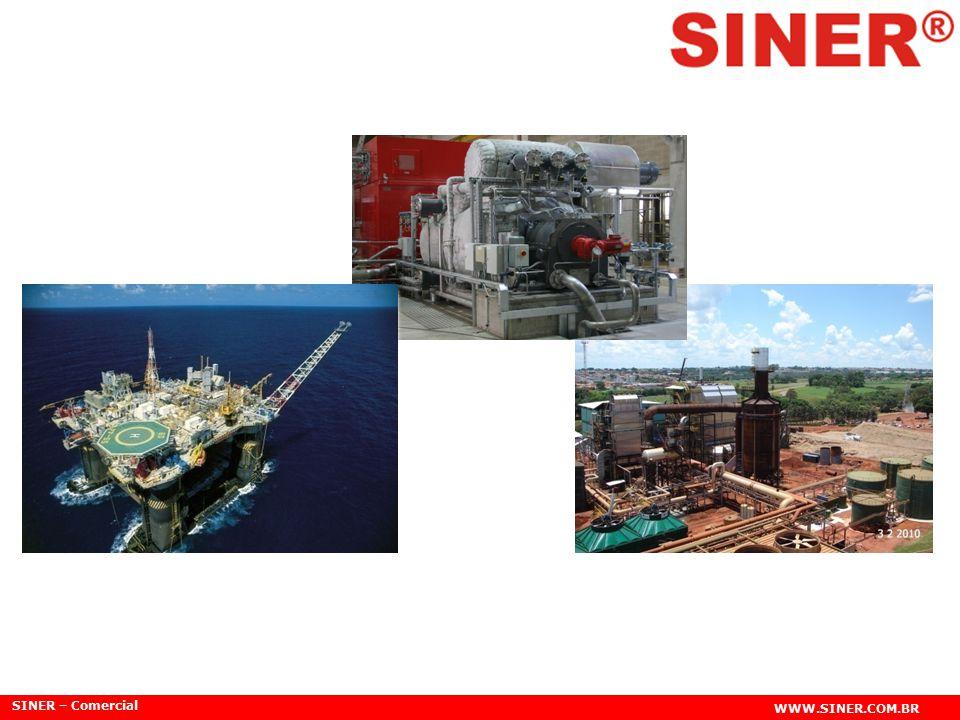 SINER – Comercial WWW.SINER.COM.BR Engenheiros de campo de uma grande multinacional do segmento de Engenharia Elétrica dotados de visão empreendedora, fundam em 1990 uma empresa com conceito inovador e futurístico, sendo uma das principais organizações de Soluções Especializadas em Energia.