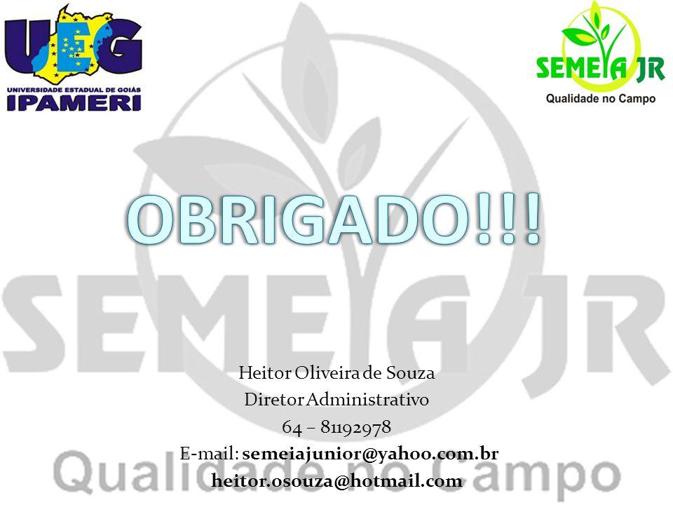 Heitor Oliveira de Souza Diretor Administrativo 64 – 81192978 E-mail: semeiajunior@yahoo.com.br heitor.osouza@hotmail.com