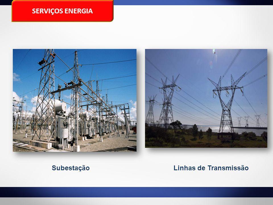 Linhas de TransmissãoSubestação SERVIÇOS ENERGIA