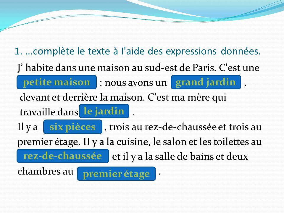 CONSOLIDATION Compréhension écrite – texte à trous (Manual, p. 140)