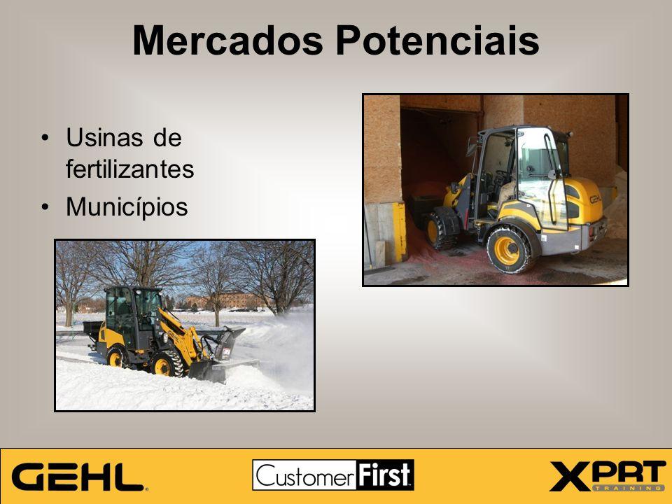 Mercados Potenciais Usinas de fertilizantes Municípios