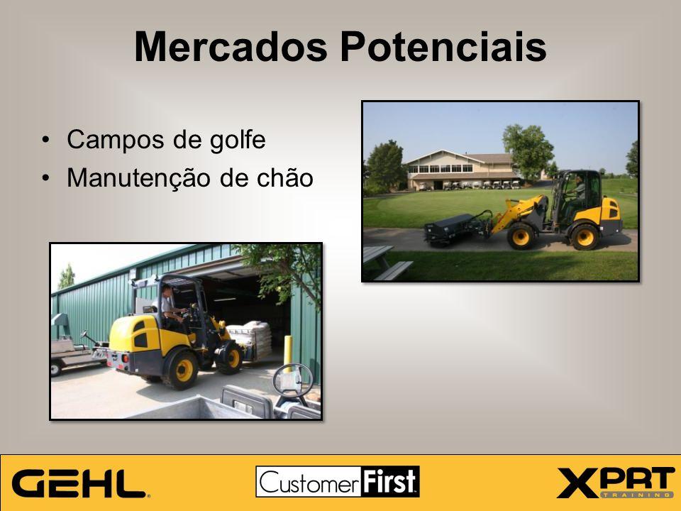Campos de golfe Manutenção de chão Mercados Potenciais