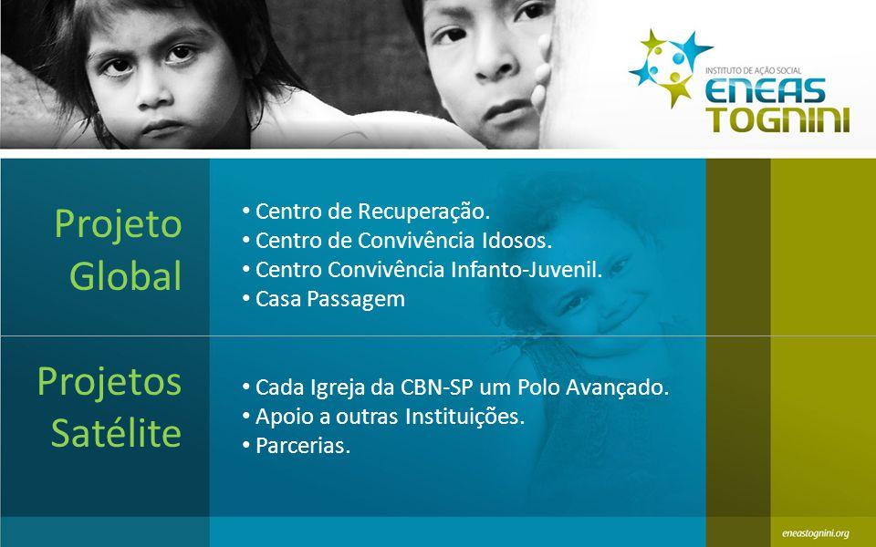 Centro de Recuperação.Centro de Convivência Idosos.
