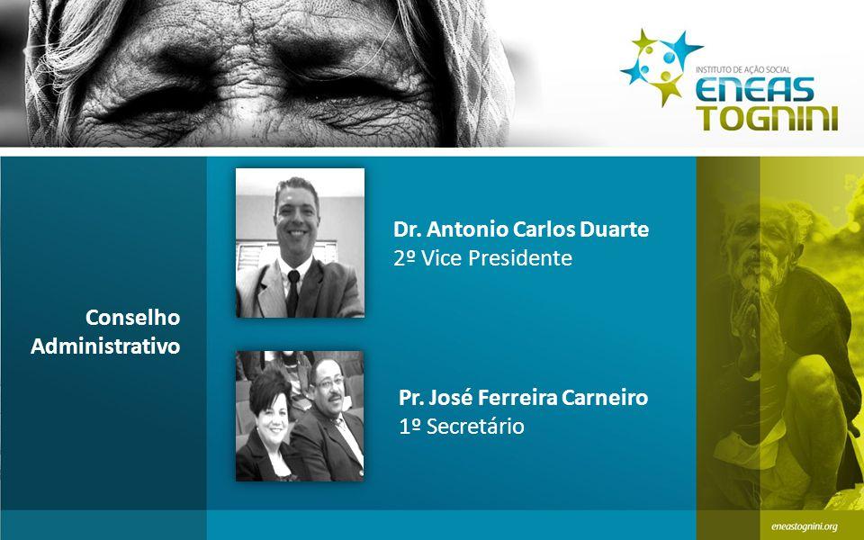 Dr.Antonio Carlos Duarte 2º Vice Presidente Conselho Administrativo Pr.