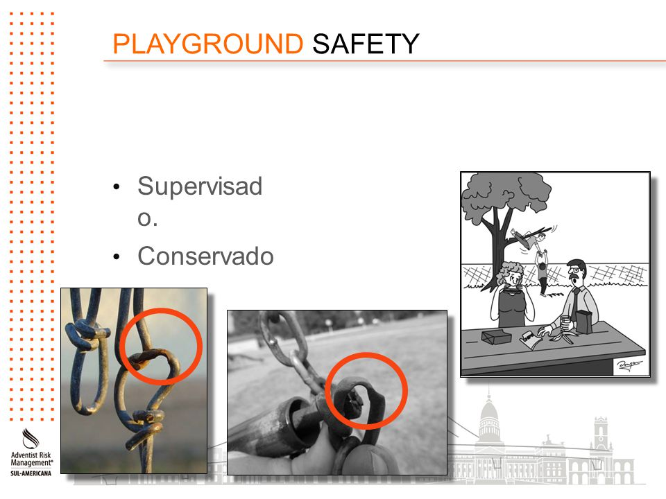 PLAYGROUND SAFETY Supervisad o. Conservado.