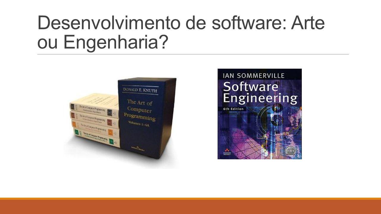 Realidade: Um programa funcionando é somente uma parte de uma Configuração de Software que inclui todos os itens de informação produzidos durante a construção e manutenção do software.