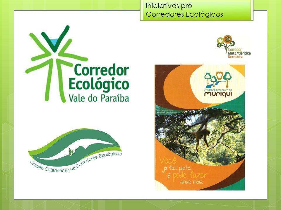 Iniciativas pró Corredores Ecológicos