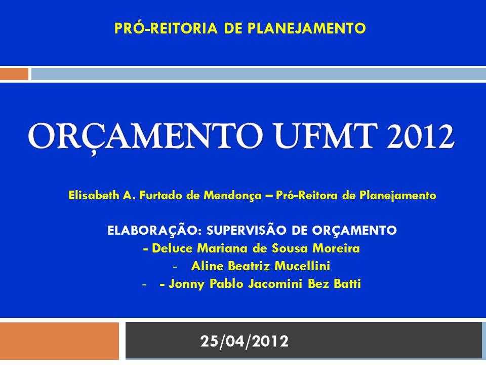  EXECUÇÃO ORÇAMENTÁRIA DOS RECURSOS DO TESOURO (LOA 12.381 DE 10/02/2011) EXECUÇÃO DO ORÇAMENTO 2011 2