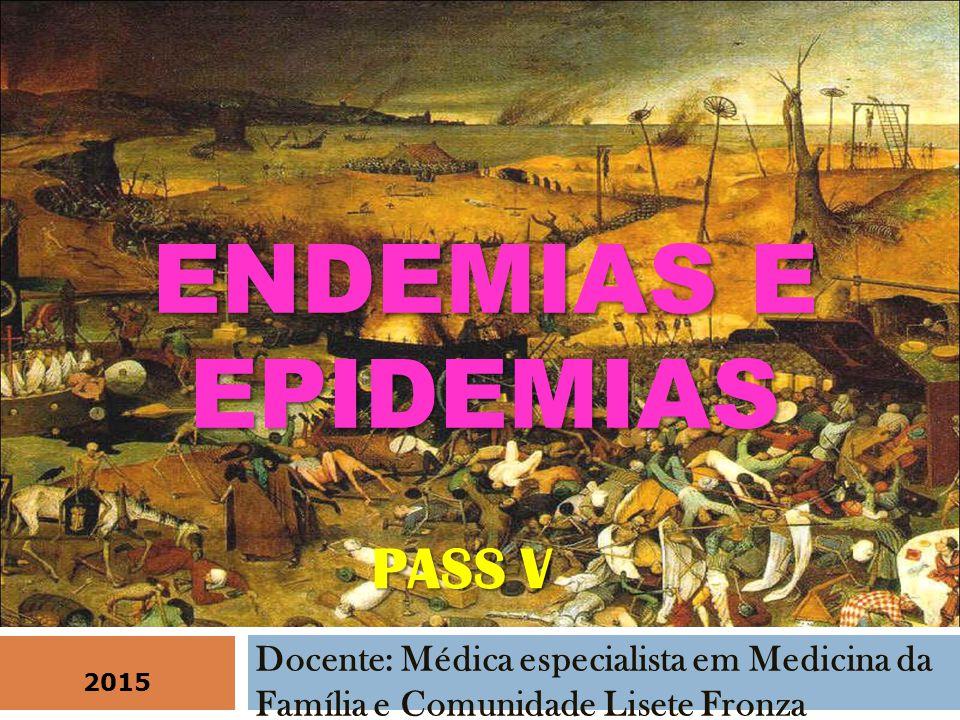 COM O DESVIO PADRÃO MENSAL CALCULA-SE O LIMITE SUPERIOR ENDÊMICO E O LIMITE INFERIOR ENDÊMICO O intervalo entre estes dois valores é conhecido como limite endêmico ou faixa endêmica.