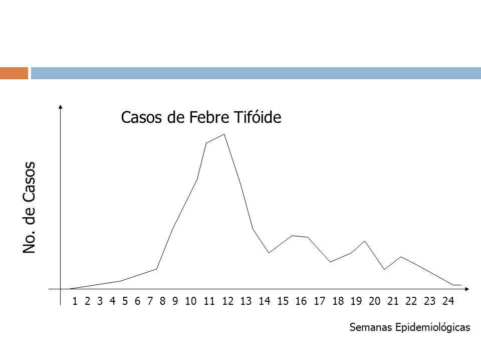 Casos de Febre Tifóide No.