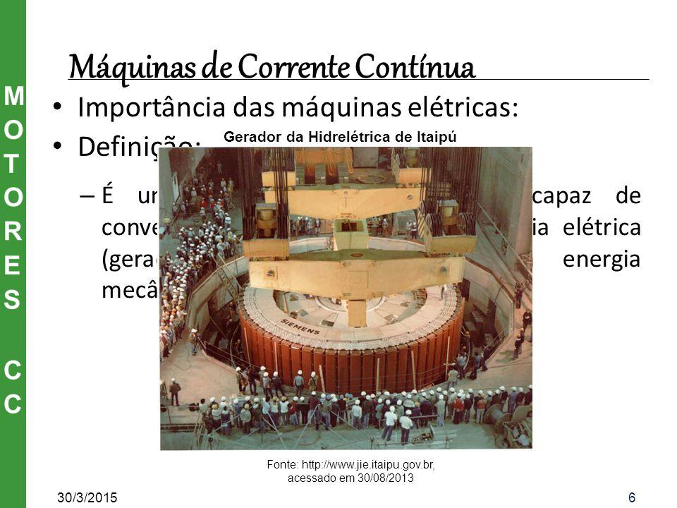 Lei de Lenz 30/3/201517 Fonte: http://www.educacao.uol.com.br Ilustração da Lei de Lenz