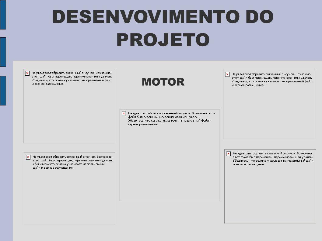 DESENVOVIMENTO DO PROJETO MOTOR